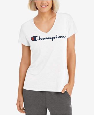 Champion Authentic Wash Logo T-Shirt
