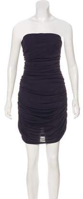 Michael Kors Strapless Mini Dress