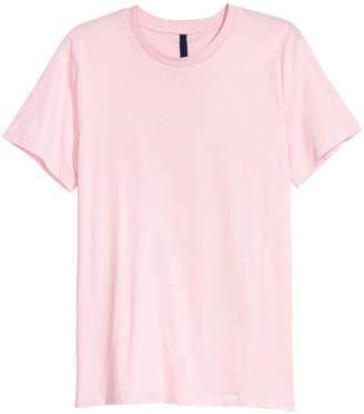 H&M Round-necked T-shirt - Pink