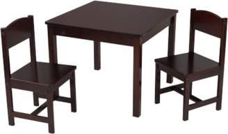 Kid Kraft Aspen Table & 2 Chair Set, Multiple Colors