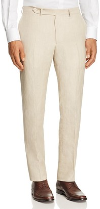 Eidos Regular Fit Slub Trousers $375 thestylecure.com