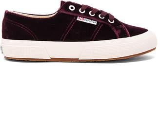 Superga 2750 Cotu Classic Sneaker in Wine $119 thestylecure.com