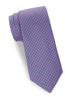Saks Fifth Avenue Printed Silk Tie