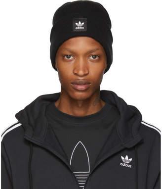 adidas Black Adicolor Cuff Knit Beanie