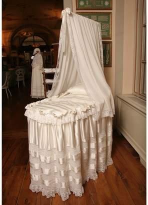 Silk Satin And Lace Crib Set