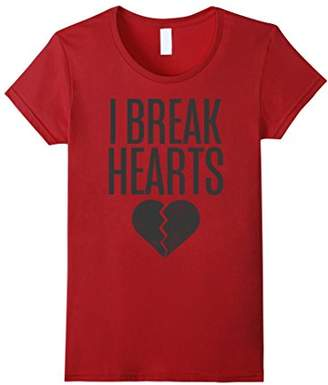 I Break Hearts Black Heart Graphic T-Shirt