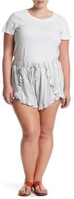 Melrose and Market Ruffled Dolphin Shorts (Plus Size)