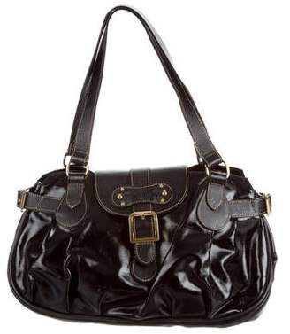Pre Owned At Therealreal Longchamp Patent Leather Shoulder Bag