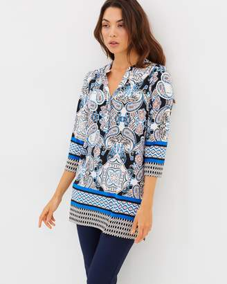 Wallis Mermaid Paisley Top