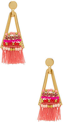 Rebecca Minkoff Goe Tassel Chandeliers With Beading
