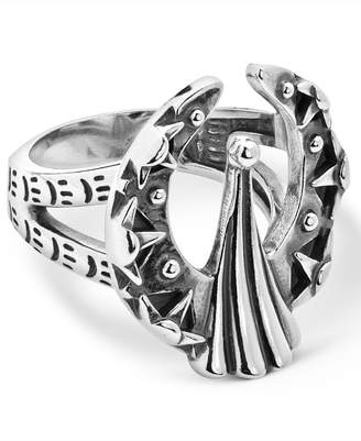 American West Fritz Casuse Naja Ring in Sterling Silver