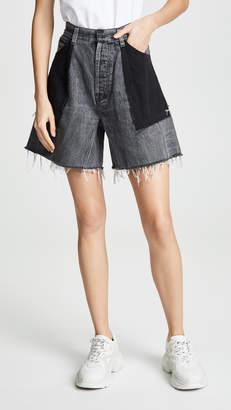 Ksenia Schnaider Reworked Denim Shorts