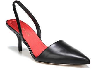5aa0b718145 Diane von Furstenberg Mortelle Slingback Leather Pumps