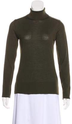 Akris Virgin Wool & Cashmere-Blend Long Sleeve Top