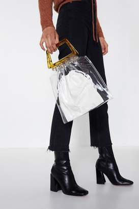 Nasty Gal WANT In the Clear Tote Bag