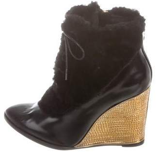 Paloma Barceló Kate Wedge Ankle Boots w/ Tags