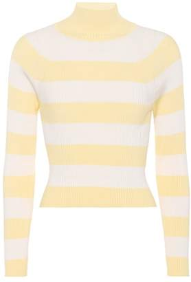 Zimmermann Whitewave striped ribbed top