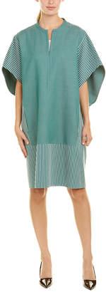 Akris Wool-Blend Shift Dress