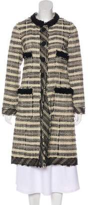 Marc Jacobs Tweed Wool Coat