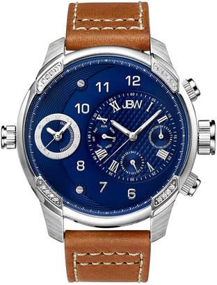 JBW Men's G3 Diamond & Crystal Watch