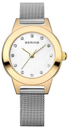 Swarovski BERING Classic Analog Two-Tone Crystal Watch