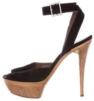 36f836f7decf Marni Covered Platform Women s Sandals - ShopStyle