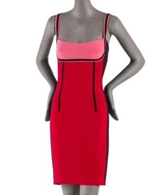 Jay Godfrey Tritone Lafayette Dress