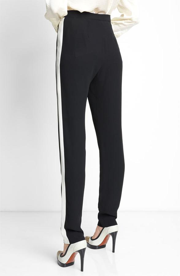 Lanvin Jogging Pants Womens Black Size 4 US / 36 FR 4 US / 36 FR