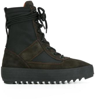 Yeezy Season 3 military boots $593.25 thestylecure.com