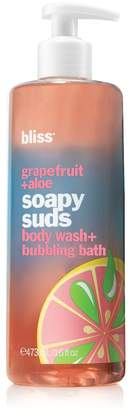 Bliss Grapefruit + Aloe Pepper Soapy Suds Body Wash + Bubbling Bath