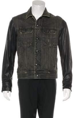 Rag & Bone Lamb Leather Jacket