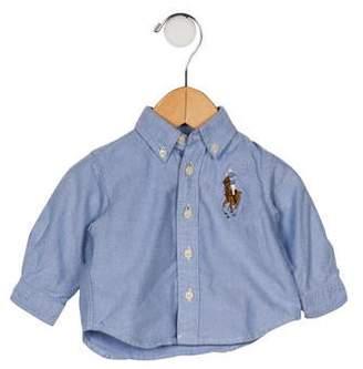 Ralph Lauren Boys' Chambray Button-Up Shirt