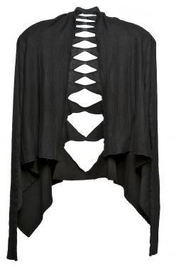 Rick Owens Slash-Back Wrap Cardigan
