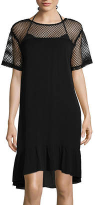 LM BEACH Lm Beach Woven Swimsuit Cover-Up Dress