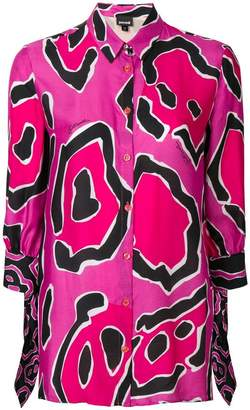 Just Cavalli geometric print blouse