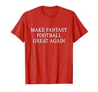 Make Fantasy Football Great Again Draft T-shirt Commissioner