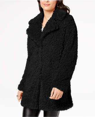 INC International Concepts I.n.c. Faux-Fur Teddy Coat