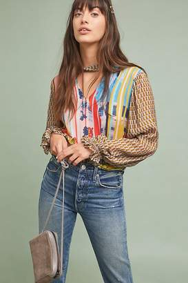 Conditions Apply Retro Peasant Blouse