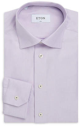 Eton Slim Fit Textured Dress Shirt