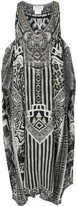 Camilla tribal print dress