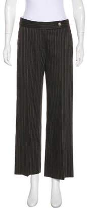 Missoni Wool Mid-Rise Wide-Leg Pants