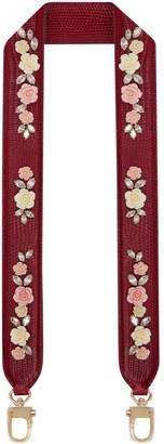 Dolce & Gabbana Floral Embellished Bag Strap