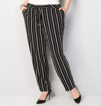 Avenue Striped Stretch Pull-On Pant