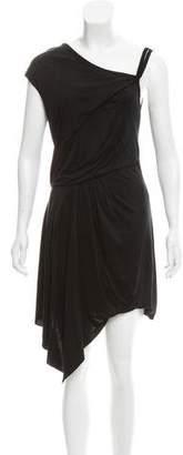 Helmut Lang Asymmetric Sleeveless Dress