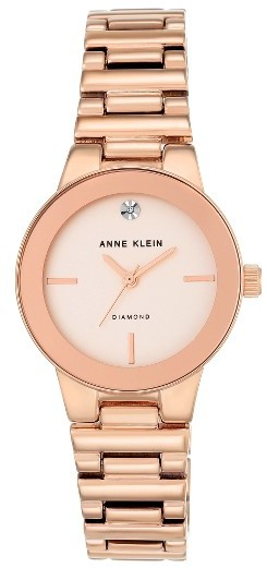 Anne Klein Women's Anne Klein Diamond Dial Bracelet Watch, 30Mm