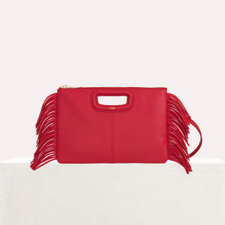 Maje M Duo purse in leather