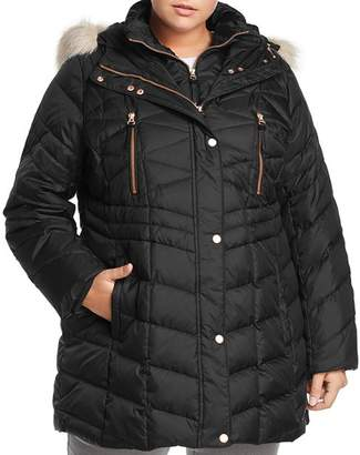 Andrew Marc Plus Performance Plus Marley Matte Down Puffer Coat