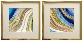 Pi Star Creations Agate I & II by Gallerie (Framed) (Set of 2)