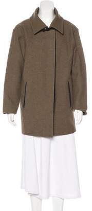 Isabel Marant Wool Button-Up Coat