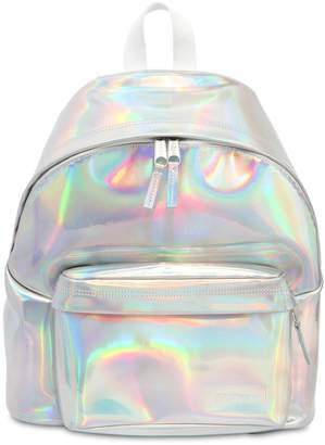 Eastpak 24l Padded Iridescent Leather Backpack
